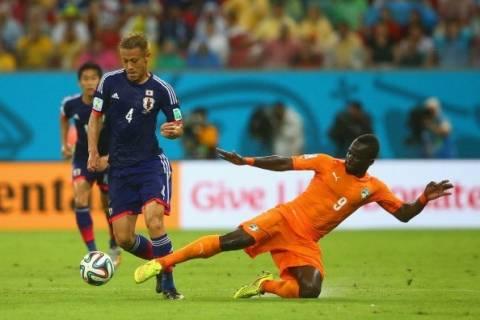 Παγκόσμιο κύπελλο 2014: Ακτή Ελεφαντοστού-Ιαπωνία 2-1