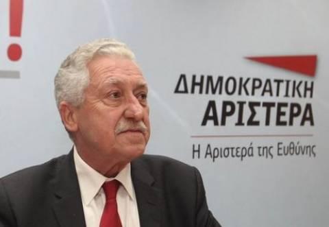 Κουβέλης: Συνεργασία ΔΗΜΑΡ με Κεντροαριστερά και ΣΥΡΙΖΑ