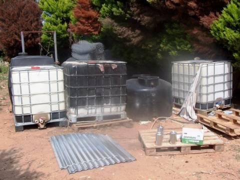 Κύκλωμα έκλεβε καύσιμα από εγκαταστάσεις της Π.Α. (pics)