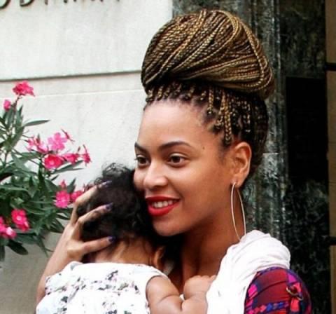 Θύελλα αντιδράσεων έχει ξεσηκώσει η Βeyonce εξαιτίας της… κόρης της