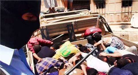 Ιράκ: Εικόνες που σοκάρουν από τις ομαδικές εκτελέσεις ομήρων