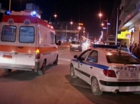 Ένας νεκρός σε σύγκρουση φορτηγών στη Θεσσαλονίκη