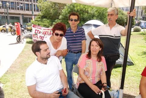 Σακελλαρίδης: «Η πολιτική των απολύσεων δεν μπορεί να περάσει» (pics-vid)