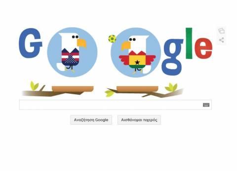 Παγκόσμιο Κύπελλο Ποδοσφαίρου 2014: H Google έχει Γκάνα και ΗΠΑ!