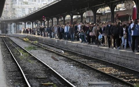 Γαλλία: Προβλήματα από την απεργία στους σιδηρόδρομους
