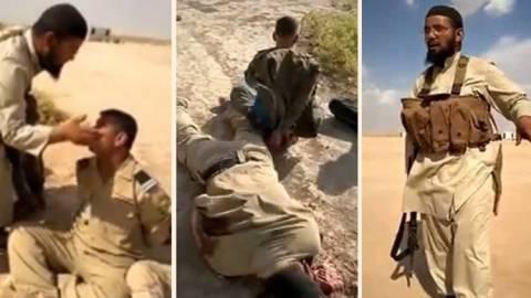 Βίντεο-ΣΟΚ: Ισλαμιστές χτυπάνε και εκτελούν Ιρακινούς στρατιώτες