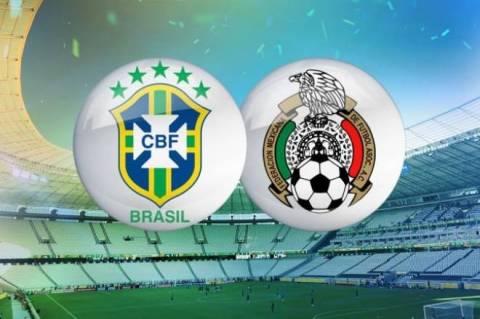 Παγκόσμιο Κύπελλο ποδοσφαίρου 2014:Βραζιλία – Μεξικό στις 22.00 (ΝΕΡΙΤ)