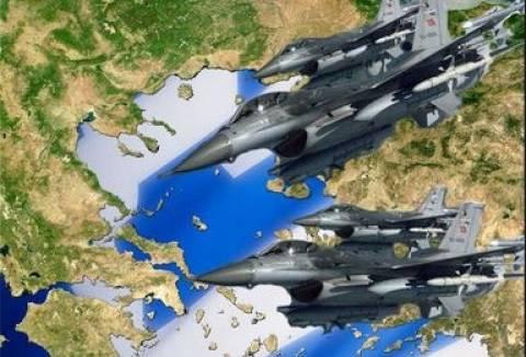 Συνεχίζονται οι τουρκικές προκλήσεις-2 μαχητικά παραβίασαν το FIR Αθηνών