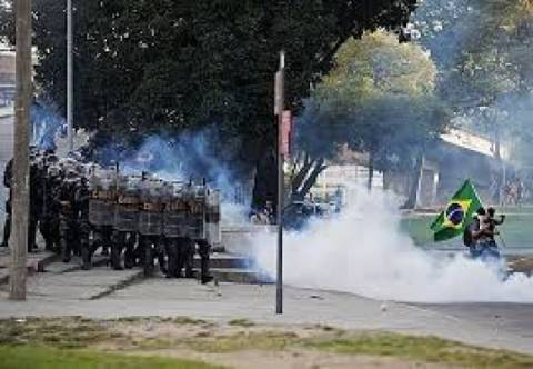 World Cup 2014: Clashes in Brazil
