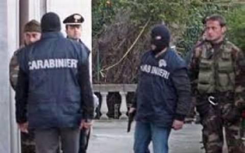 Δεκαεπτά συλλήψεις υπόπτων για συμμετοχή στη μαφία στο Παλέρμο της Σικελίας