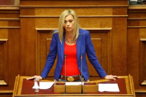 Ανεξάρτητοι Έλληνες: Για… ψυχικά λειψούς μίλησε στη Βουλή η Ραχήλ Μακρή