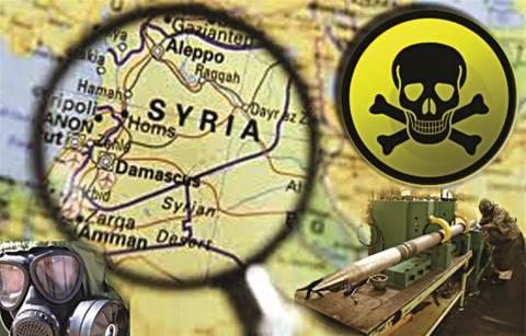 ΚΚΕ: Κοινό μεσογειακό μέτωπο κατά της καταστροφής των χημικών της Συρίας