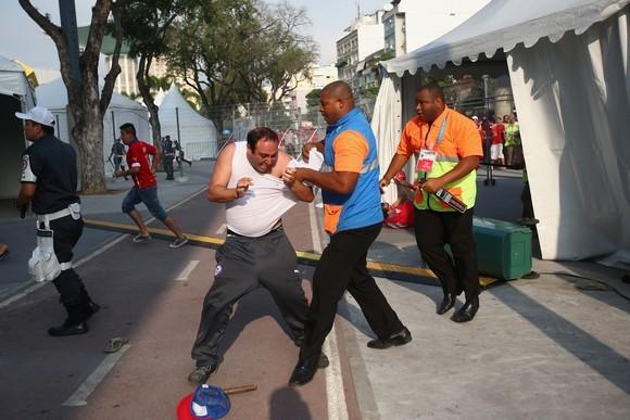 Μουντιάλ 2014: Επεισόδια με Χιλιανούς στο «Μαρακανά» (photos+video)