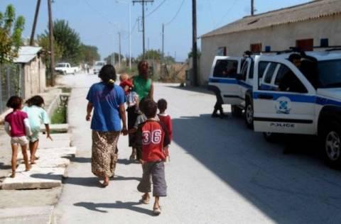 Έφοδοι σε καταυλισμούς Ρομά στη Βόνιτσα