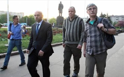 Ουκρανία: Καλά στην υγεία τους οι αγνοούμενοι παρατηρητές του ΟΑΣΕ