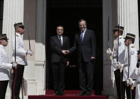 Α. Σαμαράς: Κλίμα αμοιβαίας εμπιστοσύνης μεταξύ Κίνας- Ελλάδας
