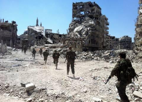 Συρία: Η αεροπορία βομβαρδίζει προπύργιο των εξεγερμένων