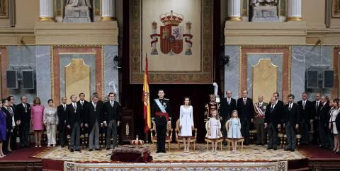 Ισπανία: Φωτογραφίες από την ενθρόνιση του Φελίπε