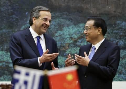Ξενάγηση του Κινέζου πρωθυπουργού στην Ακρόπολη από τον Σαμαρά (pics)