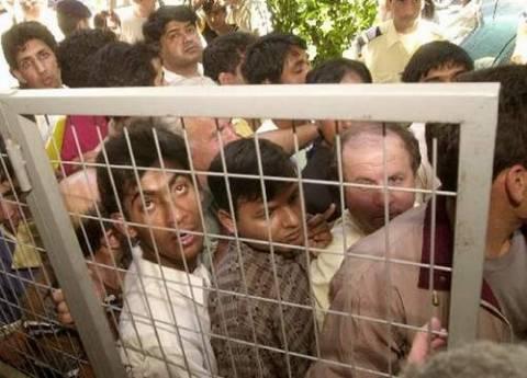 Εντοπίστηκαν 72 παράνομοι μετανάστες στην Εύβοια