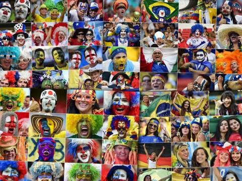 Παγκόσμιο Κύπελλο Ποδοσφαίρου 2014: Όλες οι βαμμένες... φυλές του Μουντιάλ