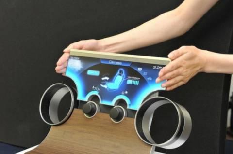 Η τεχνολογία για οθόνες σε ασυνήθιστα σχήματα από τη Sharp