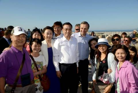 Εντυπωσιασμένος ο Κινέζος πρωθυπουργός από από τις συλλογές του Αρχαιολογικού Μουσείου