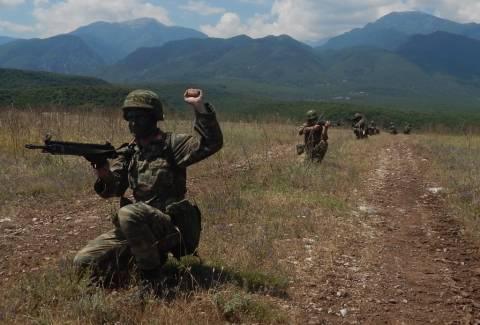 Συναγερμός στο Λιτόχωρο: Τα ελληνικά κομάντο ανέβηκαν στο «βουνό των θεών» (pics)