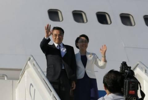 Αναχώρησε από την Κρήτη ο κινέζος πρωθυπουργός