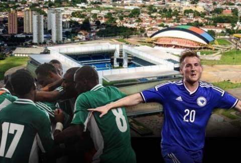 Παγκόσμιο Κύπελλο Ποδοσφαίρου 2014: Νιγηρία - Βοσνία Live