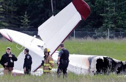 Ελβετία: Συντριβή αεροπλάνου με δύο νεκρούς