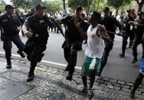 Μουντιάλ 2014: Η αστυνομία συνέλαβε χούλιγκαν μέλη των αποκαλούμενων barrabravas