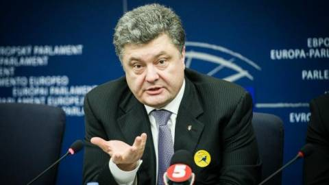 Ουκρανία: Διάλογο... ειρήνης με τους αυτονομιστές θέλει ο Ποροσένκο