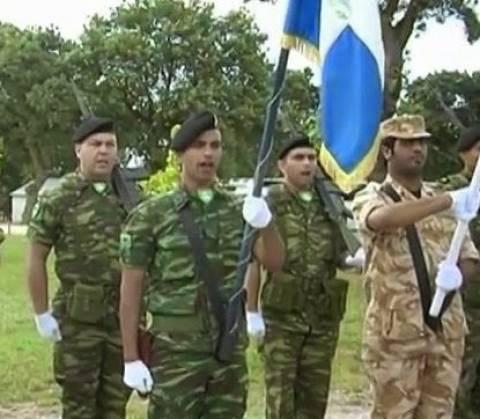 Αποφοίτηση Καταριανών Αξιωματικών στην Αλεξανδρούπολη (βίντεο)