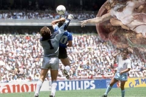 Σαν σήμερα τα δύο κορυφαία γκολ στην ιστορία του ποδοσφαίρου (pics&vid)