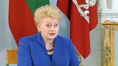 Η πρόεδρος της Λιθουανίας συνέκρινε τον Πούτιν με τους Χίτλερ και Στάλιν