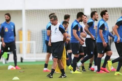 Παγκόσμιο Κύπελλο Ποδοσφαίρου 2014: Τελευταία (;) προπόνηση στο Αρακαζού για την Εθνική