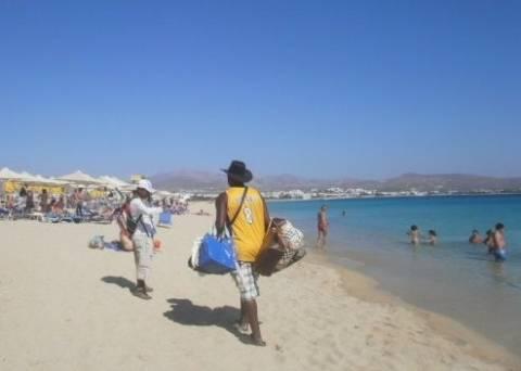 Χαλκιδική: Επιχείρηση 'σκούπα' για το παρεμπόριο στις παραλίες