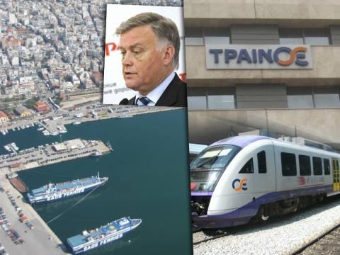 Β. Γιακούνιν: Ναι μεν, αλλά για ΤΡΑΙΝΟΣΕ και Λιμάνι Θεσσαλονίκης