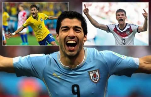 Παγκόσμιο κύπελλο ποδοσφαίρου 2014: Οι δέκα καλύτερες στιγμές με τα περισσότερα tweets