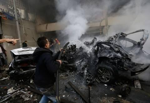 Λίβανος: Επίθεση με παγιδευμένο όχημα στα νότια προάστια της Βηρυτού