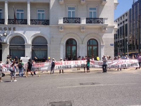 Συγκέντρωση διαμαρτυρίας για την αξιοποίηση του Ελληνικού (pics)