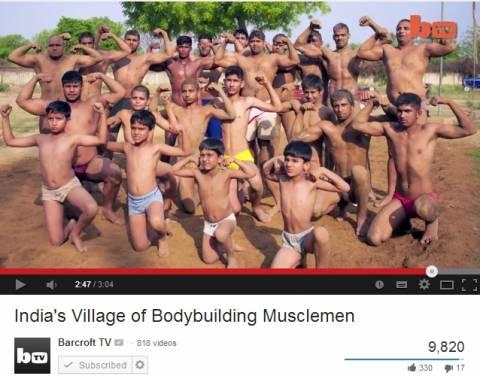 Χωριό για... bodybuilders! (βίντεο)