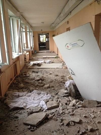 Το Σλαβιάνσκ μέσα από τα μάτια ενός εθελοντή (φωτογραφίες)