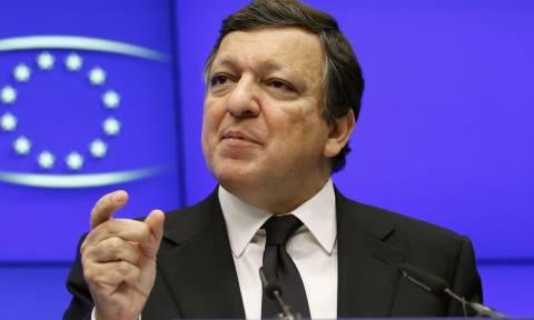Μπαρόζο: Η Ε.Ε. στηρίζει το σχέδιο Ουκρανίας-Ρωσίας
