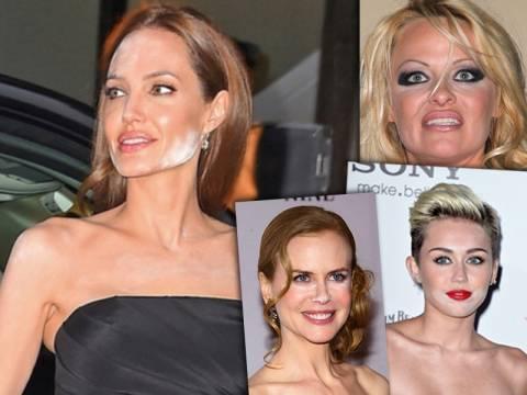 Δέκα celebrity εμφανίσεις με «καταστροφικά» makeup! (pics)