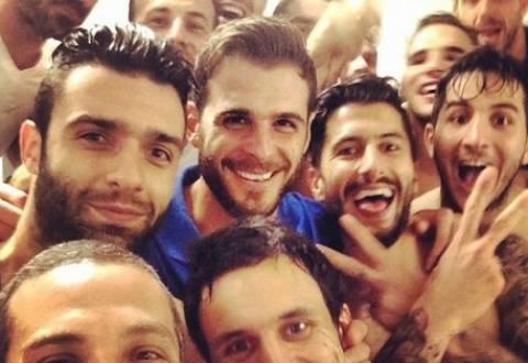 Μουντιάλ 2014: Μια γροθιά - Η selfie της Εθνικής μας! (pic)