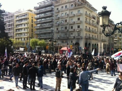 Θεσσαλονίκη: Δύο συγκεντρώσεις διαμαρτυρίας σήμερα