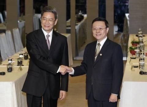Για πρώτη φορά από το 1949, κινέζος υπουργός επισκέπτεται την Ταϊβάν
