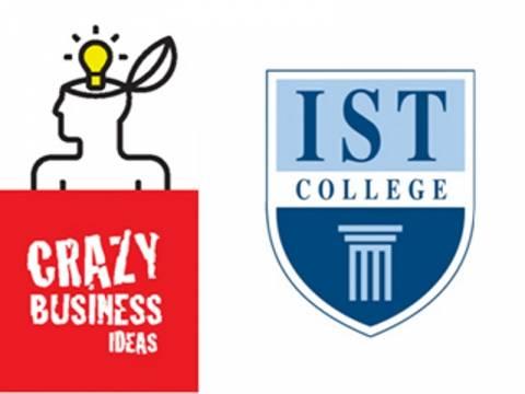IST College: Έναρξη διαγωνισμού επιχειρηματικότητας και καινοτομίας Crazy Business Idea